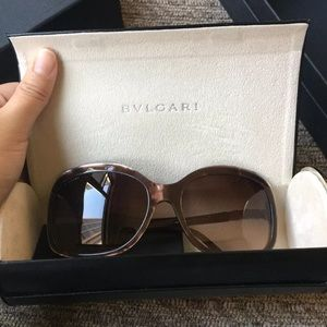 Bulgari Serpenti Swarovski Crystal Sunglasses!!